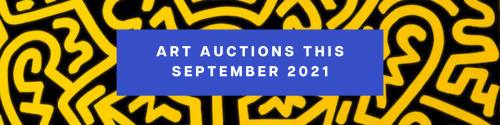 Art Auctions this September 2021